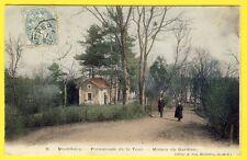 cpa MONTLHÉRY (Essonne) MAISON du GARDIEN de la TOUR du CHÂTEAU FORT