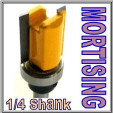 """1 pc 1/4"""" SH Mortising Hinge w/Top Bearing Router Bit  sct-888"""