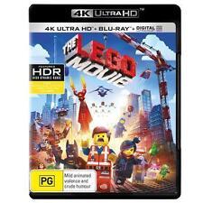 THE LEGO MOVIE****4K ULTRA HD BLU-RAY****REGION FREE****NEW & SEALED