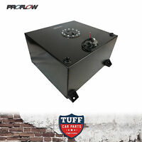 Proflow 57 Litre Fuel Cell Anodized Black Tank Foam Filled & Sender & Brackets