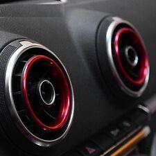 Audi A3 S3 Sportback Ring Lüftungsdüsen Lüftungsgitter Cover Abdeckung Zierringe