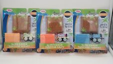 Lot of 3 - Thomas & Friends Minis - Slimy Cargo Surprise - Thomas, Scruff, Salty