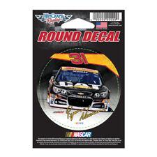 "Ryan Newman CAT Round Vinyl Decal 3"" x 3"" NASCAR"