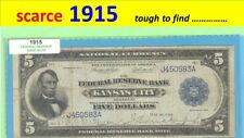 ~ Series 1915 ~ $5.00 ~ Frbn