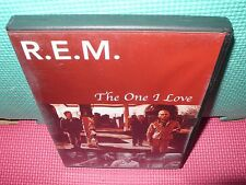 rem - r.e.m. - the one I love - dvd - 18 songs