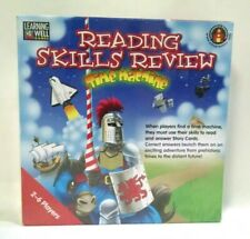 Learning Well Games Reading Skills Review Time Machine RL 2.0-3.5 Sealed in Box