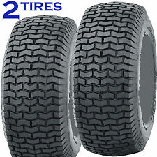 2) 20x8.00-8 20/8.00-8 Riding Lawn Mower Garden Tractor Turf TIRES P5012 4ply