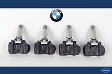 4x Genuine BMW 1er 2er 3er X5 X6 Tire Tyre Pressure Sensor Switch TPMS 6881891