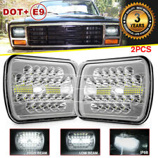 "150W 7x6 5x7 ""LED Headlight Hi Lo Beam For Ford F-150 F-250 1981 1982 1983 1984"