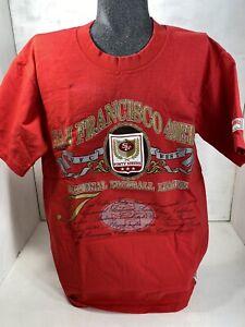 Vintage San Francisco 49ers Niners NFL Football Shirt - Patch - 1990s - Medium