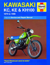 Haynes Manual 1371 - Kawasaki KC100, KE100 & KH100 (75 - 99) workshop/service