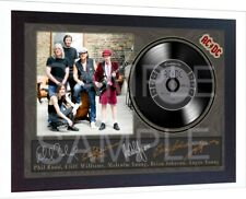ACDC Black Ice SIGNED FRAMED PHOTO PRINT Mini LP Perfect Gift #2