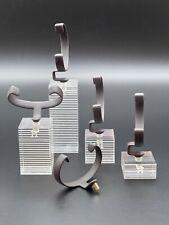HERMÈS - Display Set für 4 Uhren - Acryl - verschiedene Höhen