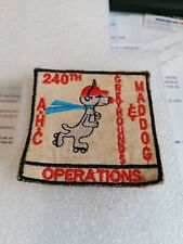 Rare patch armee US 240TH HELICOPTER ASSAULT vietnam original
