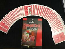 2 Red backed bicycle Mandolin cards-Svengali Deck- w/ Book Brand New!