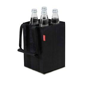 achilles 4er Bottle-Bag Flaschentasche für 4 x 1,5 Liter 17 x 17 x 27 cm schwarz
