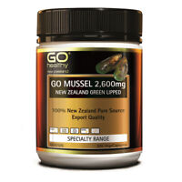 [Go Healthy] New Zealand Green Lipped Mussel 2600mg 300 Capsules EXP09/2023