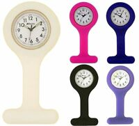 RAVEL NEON STYLE RUBBER SILICONE UNISEX NURSES INFECTION CONTROL FOB WATCH