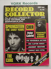 RECORD COLLECTOR MAGAZINE - Issue 106 June 1988 - Springsteen / The Cure