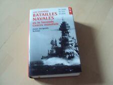 livre LES GRANDES BATAILLES NAVALES DE LA SECONDE GUERRE MONDIALE