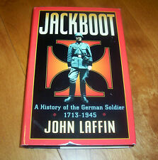 JACKBOOT GERMAN SOLDIER WWI WWII Germany Military Forces Prussia Germany Book