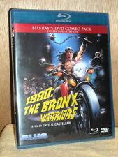 1990: Bronx Warriors (Blu-ray/DVD, 2015, 2-Disc) NEW Fred Williamson Vic Morrow
