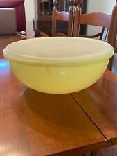 Vintage Tupperware Yellow Mix N Fix Large Bowl #274-12 With Lid