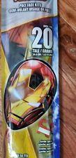 X Kites 20 Inch Poly Sky Face Kite Avengers Iron Man