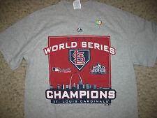 NEW St. Louis Cardinals 2011 World Series Champions T-Shirt MLB Baseball XL Team