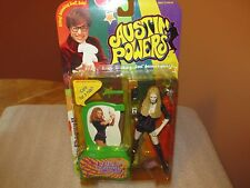 "McFarlane 1999 Austin Powers ""Felicity Shagwell"" Ultra Cool Action Figure"