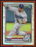 2020 Bowman Chrome Landon Knack #BD-52 REFRACTOR Rookie Card DODGERS