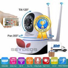 Ip Camera WiFi 3 Antenne 1080p HD Motorizzata 2020 visione notturna 3Mpx