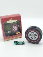 Hallmark Jet Threat Car With Case Hot Wheels Keepsake Ornament 1999 QX6527 New