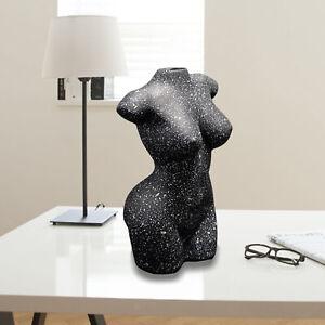 Human Body Vase Art Nude Female Tabletop Flower Pot Modern Statue Home Decor