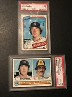 1979, 1980 Topps Rich Gossage #8 and #140