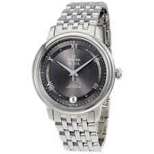 Omega De Ville Automático Gris Dial Reloj De Damas 424.10.33.20.06.001