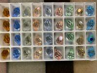 Preciosa Crystal loose  Beads , Drops Pendants  assorted colors