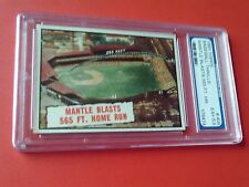 1961  TOPPS   MICKEY  MANTLE   565'  HR   PGS  EX+  5.5
