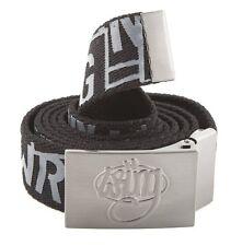 Cinturo cinto correa WRUNG logo black belt rap hiphop nuevo