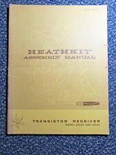 Heathkit Manual: Transistor Receiver Model Xr-2P & Xr-2L