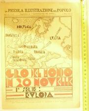 IL GIRO DEL MONDO IN 20 NOVELLE@DA L'ILLUSTRAZIONE DEL POPOLO DEL 27 MARZO 1932