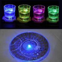 Farbe ändernde LED-helle-Flaschen-Schalen-Matten-Untersetzer-Verein-Bar-Par Q1H3