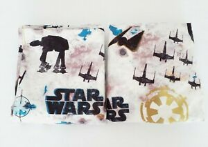 Star Wars Rogue 2-Piece Full Fitted and Flat Sheet Set Fabric