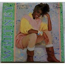 WHITNEY HOUSTON - How will i Know - MAXI 12