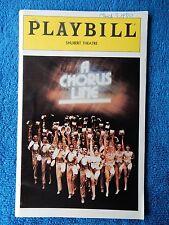 A Chorus Line - Shubert Theatre Playbill - March 1980 - Bebe Neuwirth