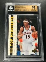 CARMELO ANTHONY 2003 UPPER DECK TOP PROSPECTS GOLD ROOKIE /100 BGS 10 PRISTINE