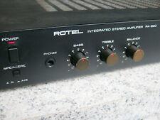 Rotel RA-820 - sehr guter, kleiner Vollverstärker , 170W Leistungsaufnahme