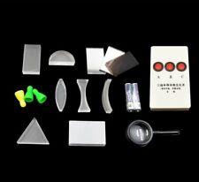 Optical experiment box parallel light source physical optics convex lens concave