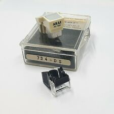 Original Akai PC100 Turntable Phono Cartridge Moving Magnet + New Stylus