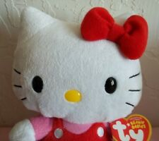"""ORIGINAL HELLO KITTY BEANNIE BABY WITH TAGS MARKED c) 1976-2009"""""""